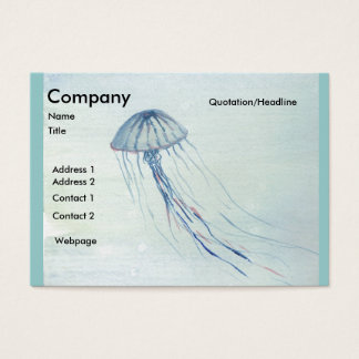 Jelly/Bubbles Business Card