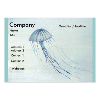 Jelly/Bubbles Business Card Template