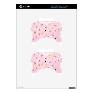 Jelly colored candy xbox 360 controller skin