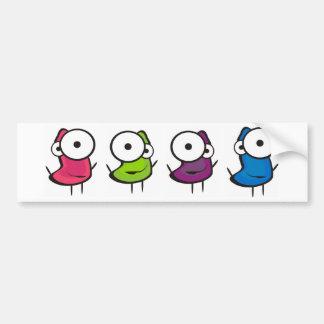 Jelly Dancers Car Bumper Sticker