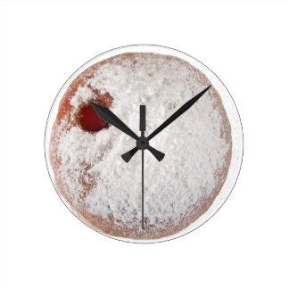 Jelly Donut Wall Clocks