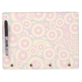Jelly Donuts Invasion Dry Erase Board With Keychain Holder