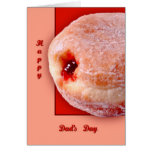 Jelly Filled Donut Card