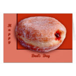 Jelly Filled Donut Greeting Cards