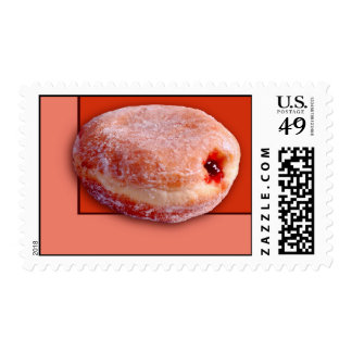 Jelly Filled Donut Postage