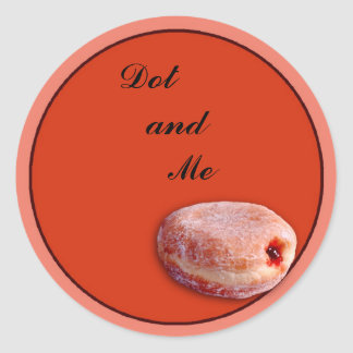 Jelly Filled Donut Stickers