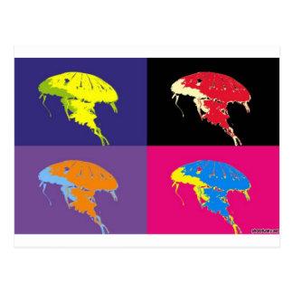 jelly fish 2 postcard