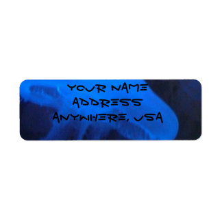 Jelly Fish Address Labels