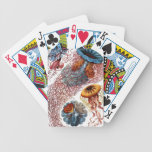 Jelly Fish by Ernst Haeckel Playing Cards