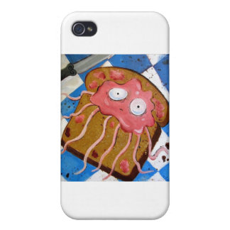 jelly-fish cover for iPhone 4