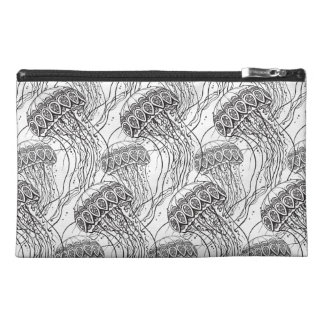 Jelly Fish Doodle Travel Accessory Bag