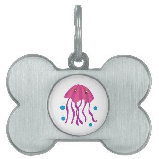 Jelly Fish Pet ID Tag