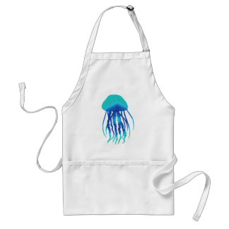 JELLY FISH STYLED ADULT APRON
