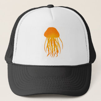 JELLY FISH SUN TRUCKER HAT