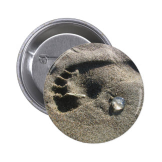 Jelly Foot Pinback Button