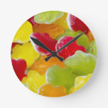 jelly frogs clock