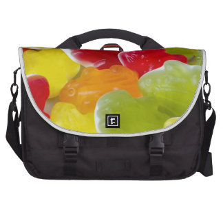 jelly frogs laptop bag