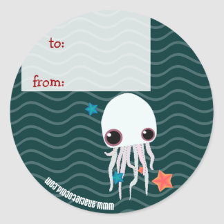 jelly from to gift tag sticker