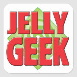 Jelly Geek v2 Stickers