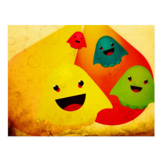 Jelly Ghosts Postcard
