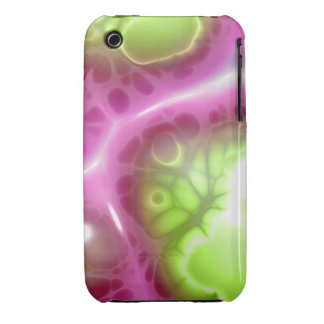 Jelly Green Pink iPhone 3 Cover