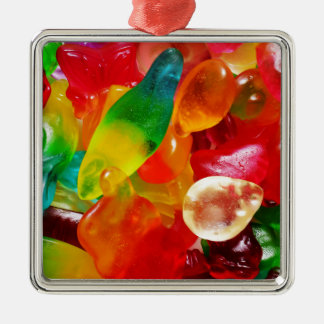 jelly gum metal ornament