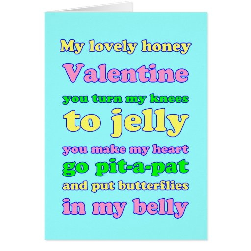 Jelly Knees Valentine! Greeting Cards