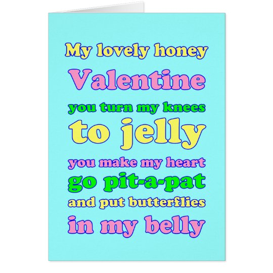 Jelly Knees Valentine! Card