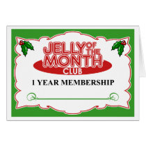 Jelly of the Month Club Card