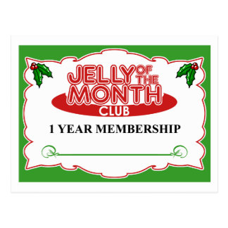 Jelly of the Month Club Postcard