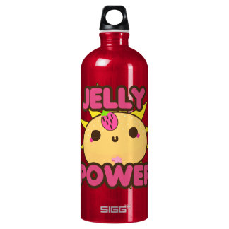 Jelly Power Aluminum Water Bottle