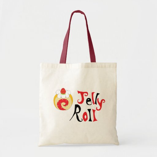 Jelly Roll Budget Tote Bag