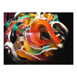 Jelly snakes photo print
