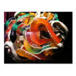 Jelly snakes postcard