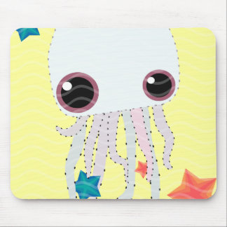 jelly star fish hot summer mouse pad