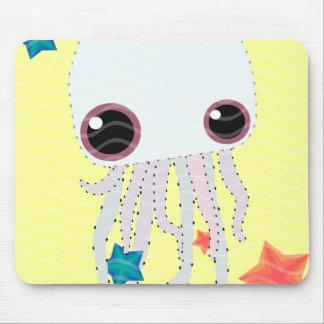 jelly star fish hot summer mousepads