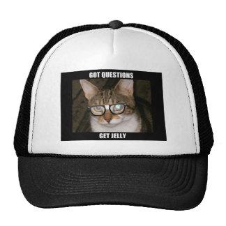 Jelly the Advice Kitty Trucker Hat