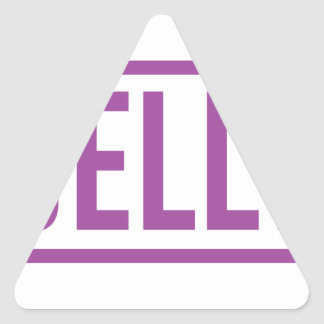 Jelly Triangle Sticker