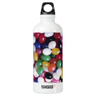 Jellybean delights by Valxart.com Aluminum Water Bottle