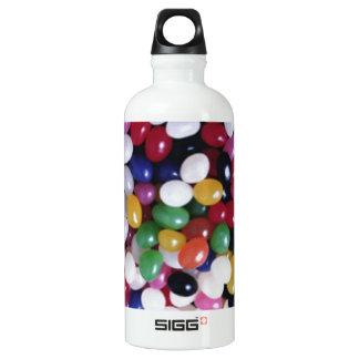 Jellybean delights by Valxart.com Aluminum Water Bottle