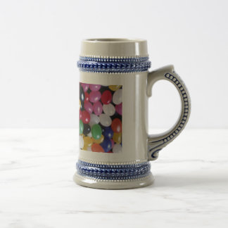 Jellybean delights by Valxart.com Beer Stein