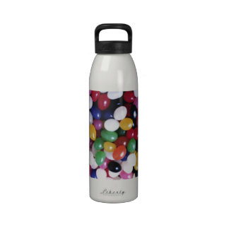 Jellybean delights by Valxart.com Drinking Bottle