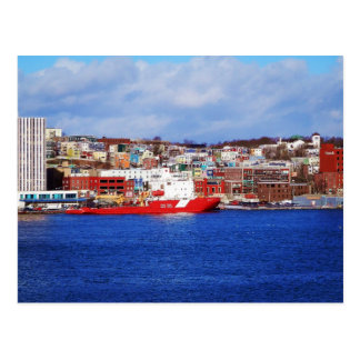 Jellybean Houses In St. John's Postcard