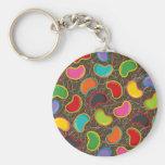 Jellybean Pop Keychain