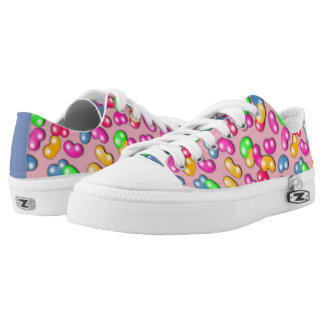 Jellybean Queen Low Tops, Cotton Candy Pink Low-Top Sneakers