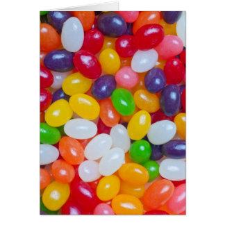 Jellybean Template - Easter Jellybeans Card