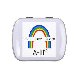 JellyBeans - Academy live-love-learn Candy Tins