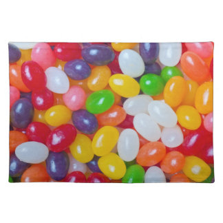 Jellybeans Background - Easter Jelly Beans Cloth Place Mat