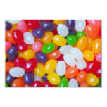 Jellybeans Background - Easter Jelly Beans 3.5x5 Paper Invitation Card