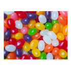 Jellybeans Background - Easter Jelly Beans Postcard
